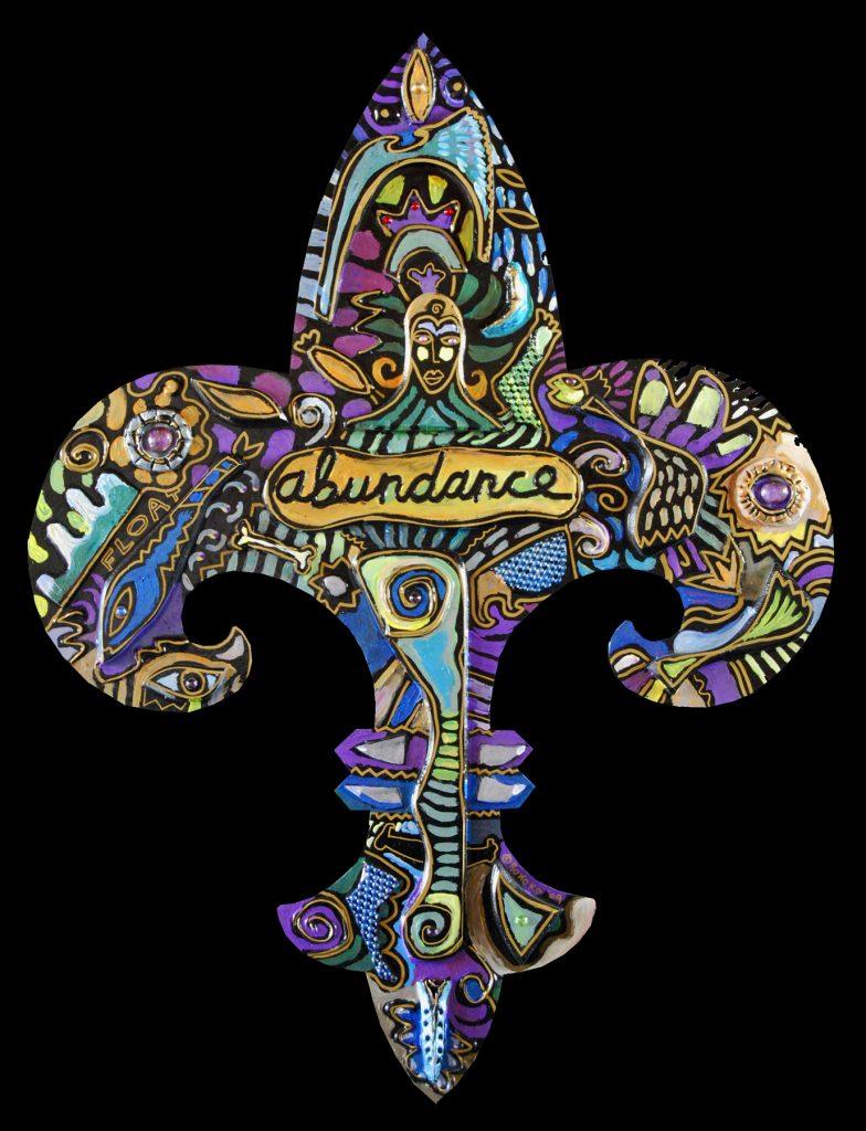 fleur de lis : abundance