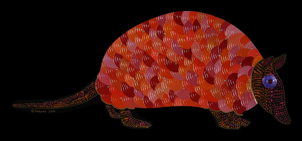 armadillo : red