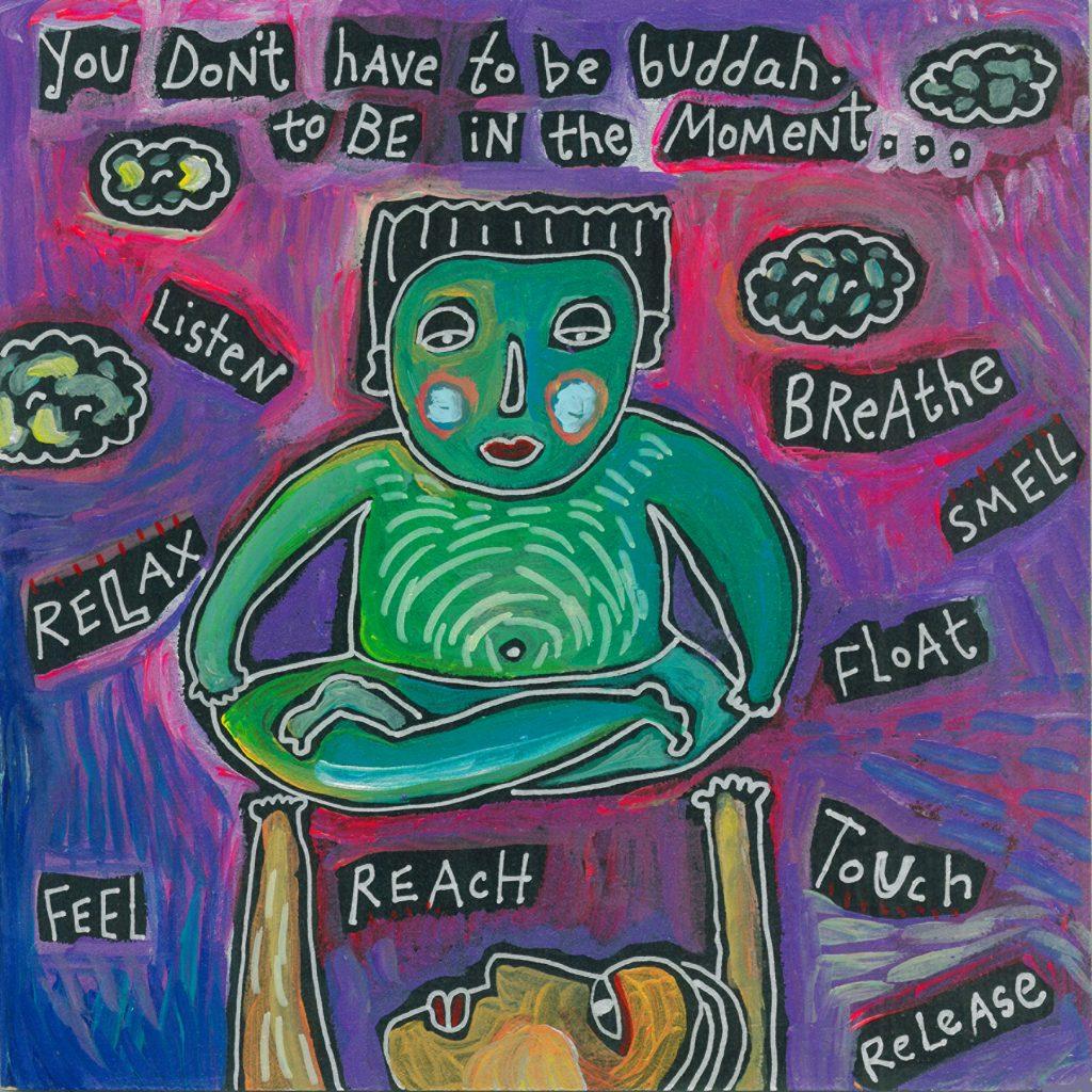 buddha moment