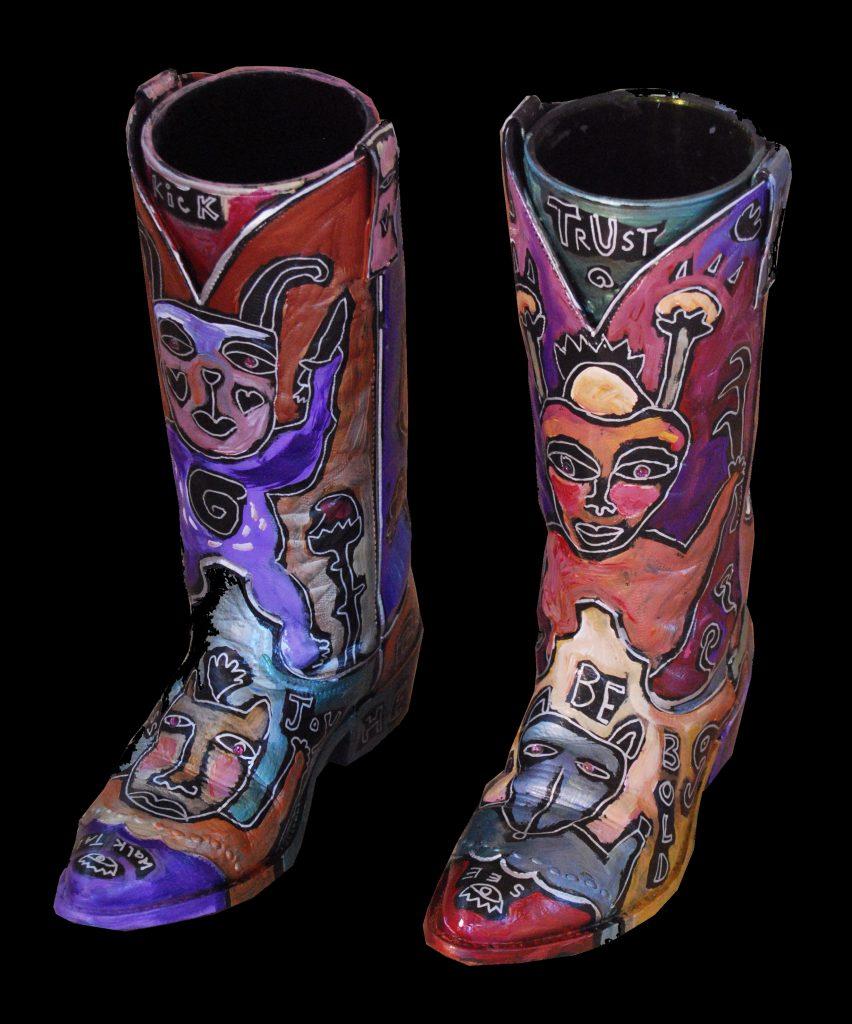 kickin cowboy boots