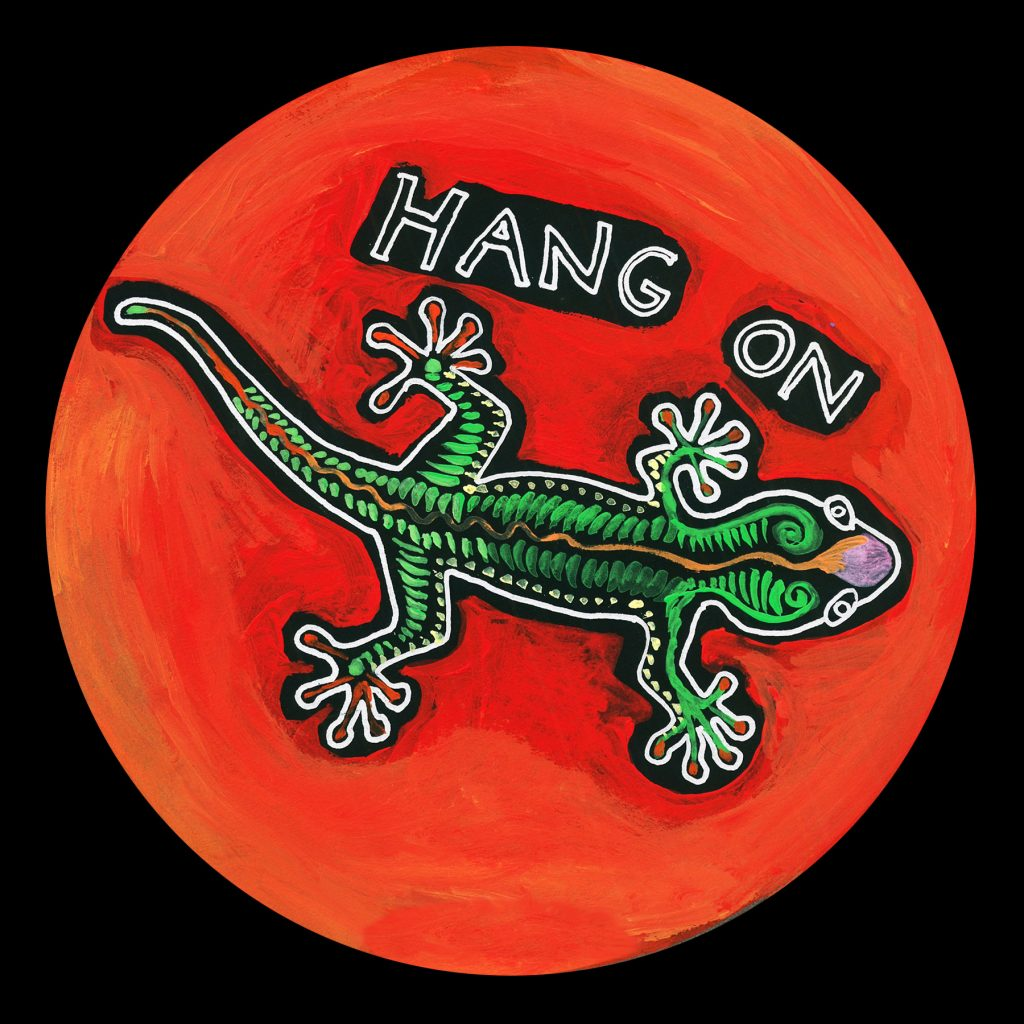 life circle : gecko hang on