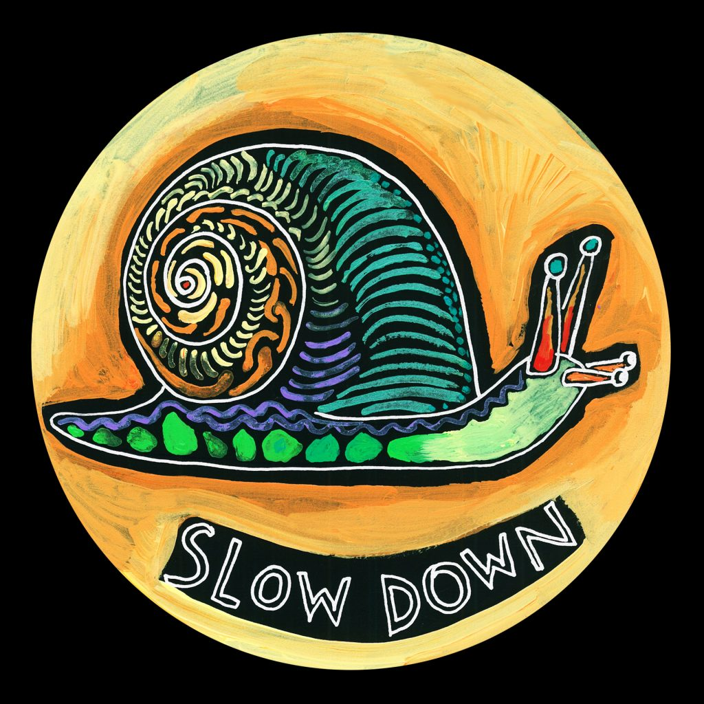 life circle : snail - slow down