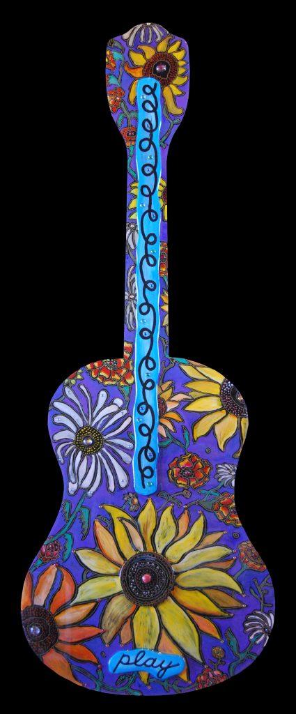 guitar xxl : flowers