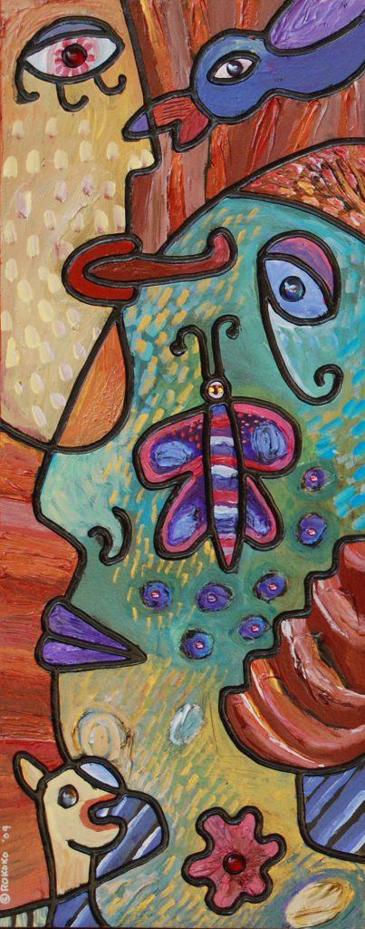 butterfly cheek 2009