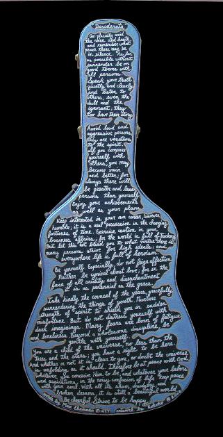 guitar case : desiderata
