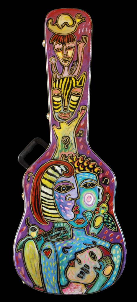 guitar case : into one