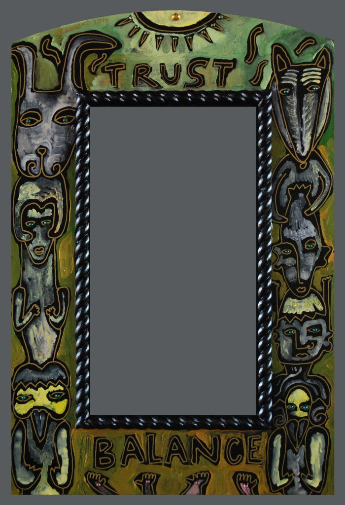 """Native"" mirror : ""Balance"""