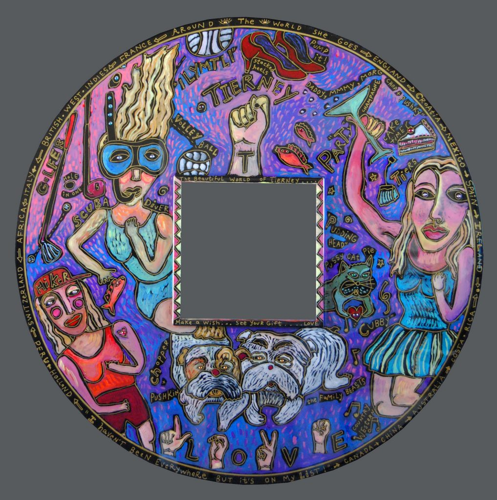 mirror : square in round