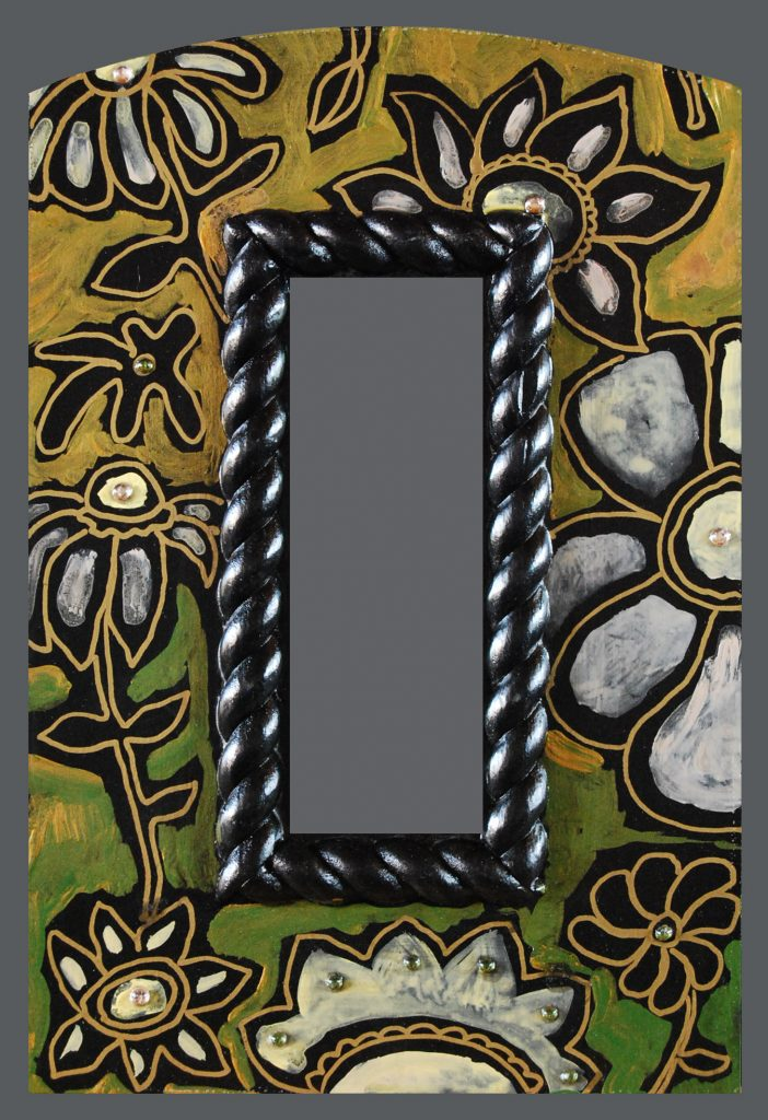 """Wild Flower"" mirror : ""Flower Earth"""