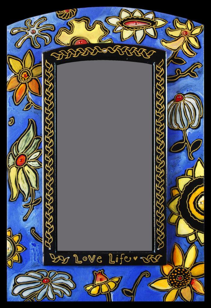 """""""Wild Flower"""" mirror"""