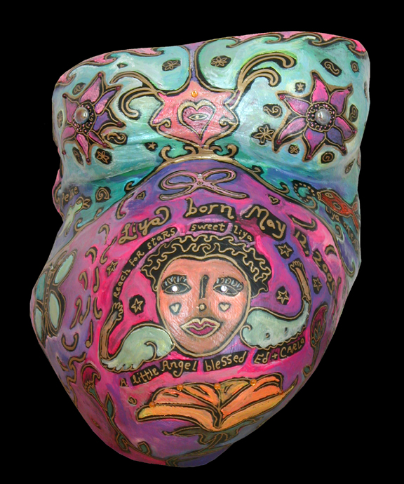 pregnancy cast c.2000