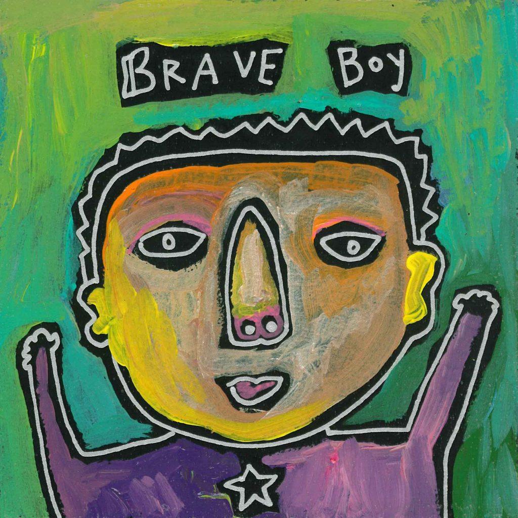 brave boy