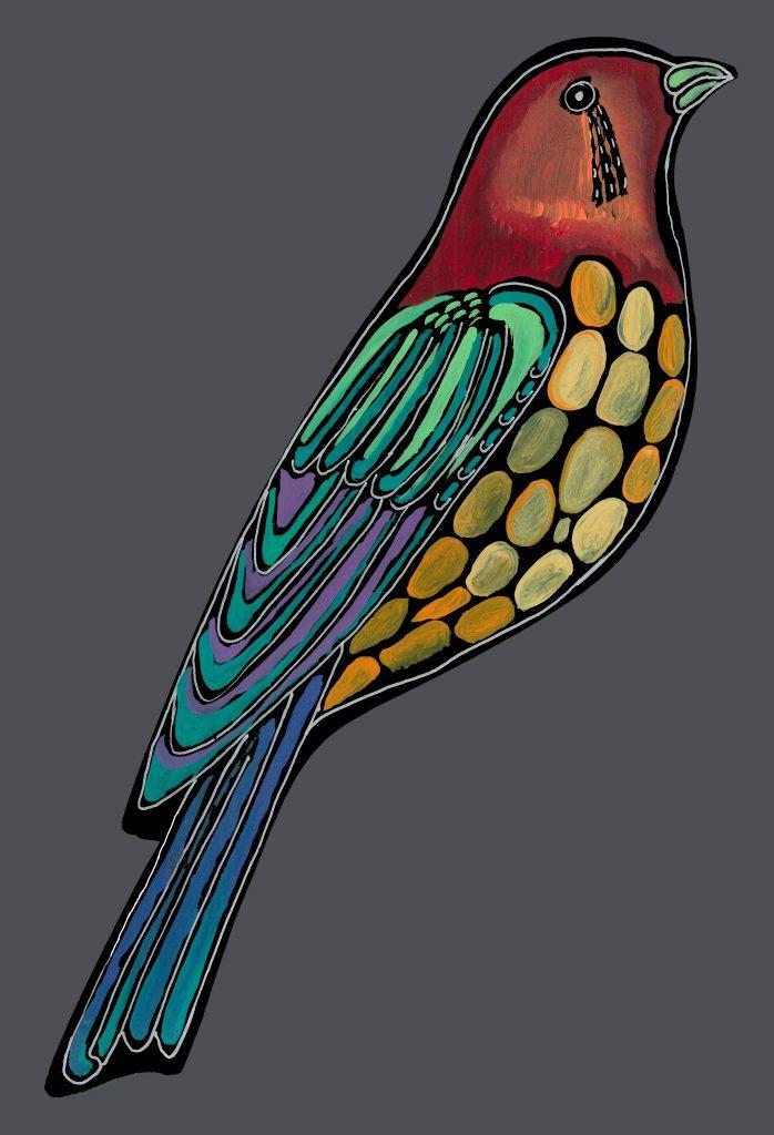 NEW bird #1 : standing