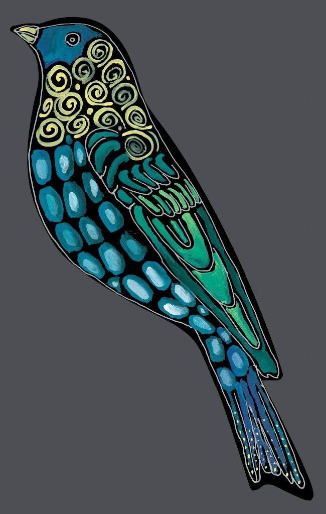 NEW bird #2 : standing